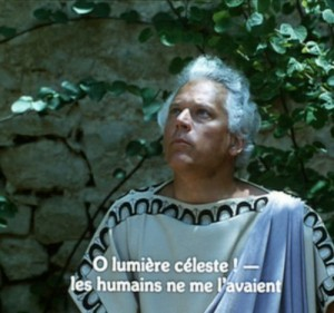 Still from Straub-Huillet film, <em>The Death of Empedocles</em>, 1987.