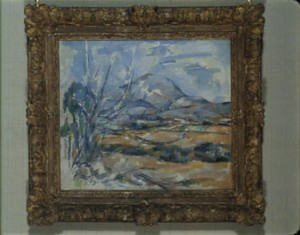 Cézanne, Mont Sainte-Victoire, 1900-02, National Gallery of Scotland, Edinburgh.