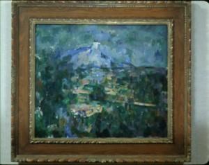"""Cézanne, """"Mont Sainte-Victoire from Les Lauves"""", 1904-06, Kunstmuseum Basel."""
