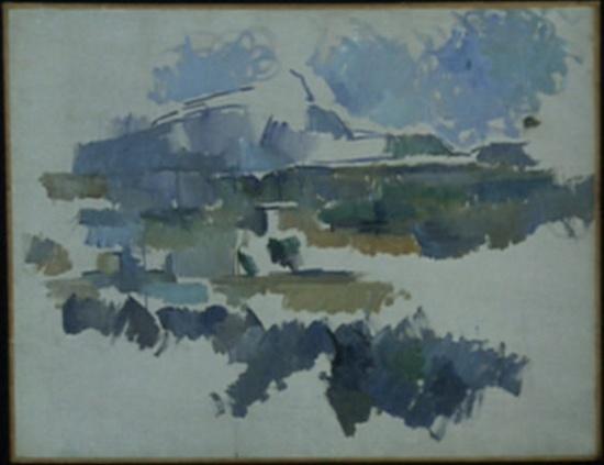 """Cezanne Mont Sainte Victoire Seen From Lauves Cézanne """"mont Sainte-victoire"""