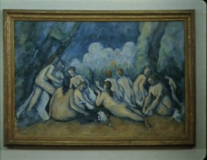 "Cézanne, ""The Large Bathers"", 1894-1905, National Gallery of London."