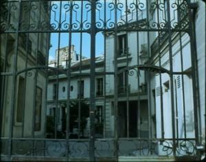 Outside of Cézanne's Paris studio, 15, rue Hégésippe Moreau.