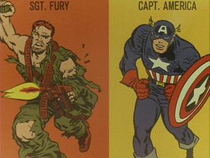 Sgt. Fury/Capt. America